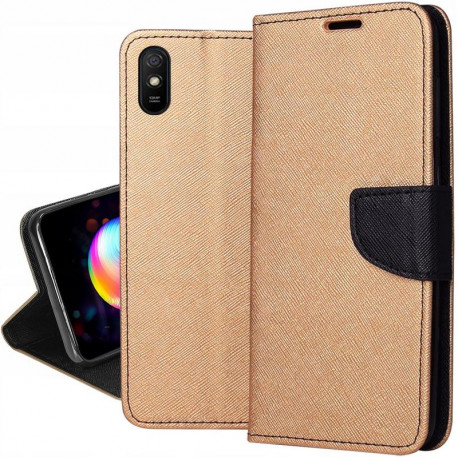 Fancy, Kaaned Xiaomi Redmi 9A, Redmi 9I, Redmi 9AT, 2020 - Kuld-Must