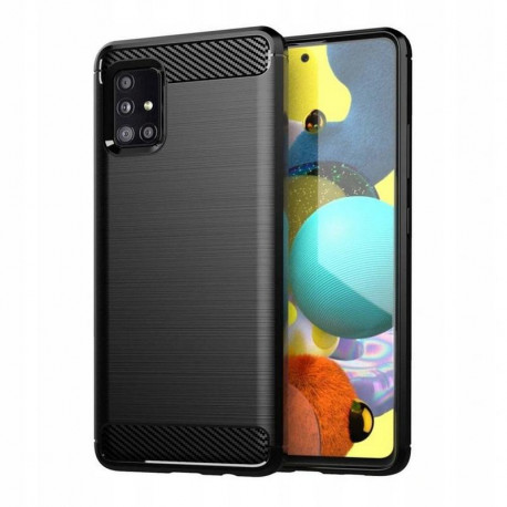 Carbon, Ümbris Samsung Galaxy A71 5G, A716, 2020 - Must