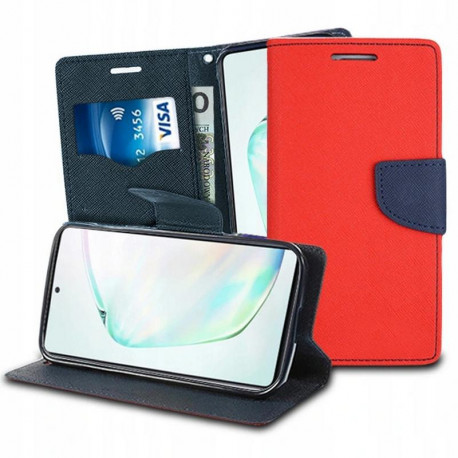 Fancy, Kaaned Samsung Galaxy Note 10 Lite, A81, N770, 2020 - Punane