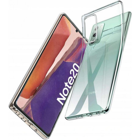 Ümbris Samsung Galaxy Note 20, Note 20 5G, N980F, N981B, 2020 - Läbipaistev