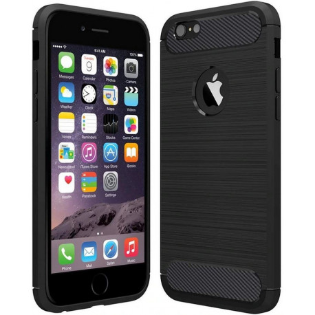 Carbon, Ümbris Apple iPhone 6 Plus, iPhone 6s Plus, 2014/2015 - Must