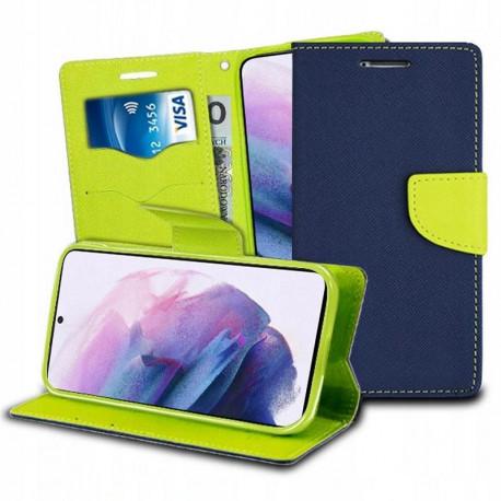 Fancy, Kaaned Samsung Galaxy S21, S21 5G, 6.2, G990F, G991B, 2021 - Sinine