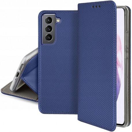 Magnet, Kaaned Samsung Galaxy S21, S21 5G, 6.2, G990F, G991B, 2021 - Sinine
