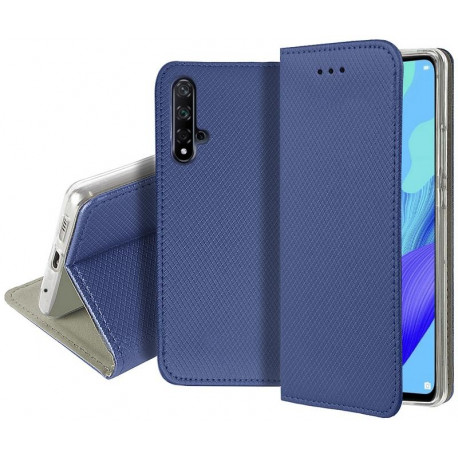 Magnet, Kaaned Huawei Nova 5T, Honor 20, 2019 - Sinine