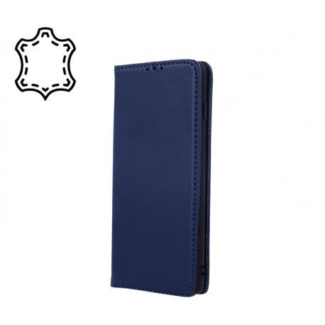 Leather, Nahkkaaned Samsung Galaxy A41, A415, 2020 - Sinine