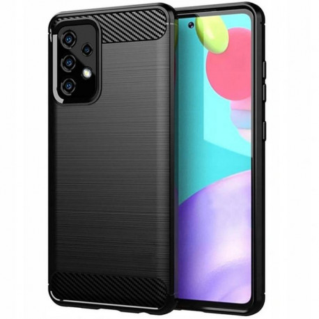 Carbon, Ümbris Samsung Galaxy A52 4G, A52 5G, A525F, A526B, 2021 - Must
