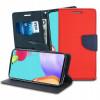 Fancy, Kaaned Samsung Galaxy A52 4G, A52 5G, A525F, A526B, 2021 - Punane