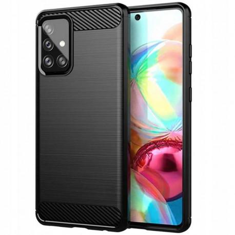 Carbon, Ümbris Samsung Galaxy A72 4G, A72 5G, A725F, SM-A726B, 2021 - Must