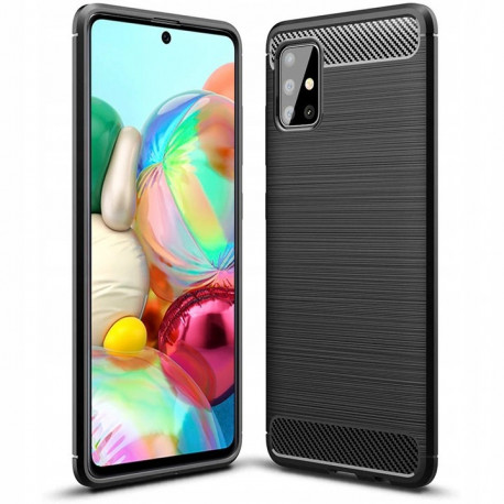 Carbon, Ümbris Samsung Galaxy A71, A715, 2019 - Must