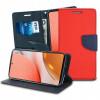 Fancy, Kaaned Samsung Galaxy A72 4G, A72 5G, A725F, SM-A726B, 2021 - Punane