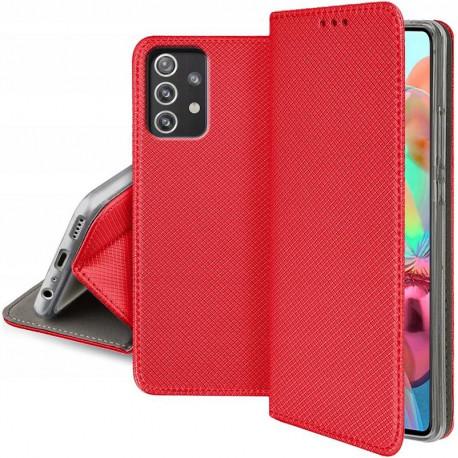 Magnet, Kaaned Samsung Galaxy A72 4G, A72 5G, A725F, SM-A726B, 2021 - Punane