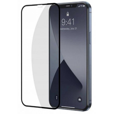 "Kaitseklaas 5D, Apple iPhone 12 / 12 Pro, 6.1"" 2020 - Must"