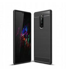 Carbon, Ümbris Sony Xperia 1, Xperia XZ4, 2019 - Must