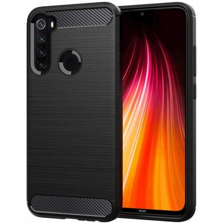 Carbon, Ümbris Xiaomi Redmi Note 8T, 2019 - Must
