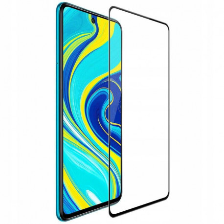Kaitseklaas 5D, Xiaomi Redmi Note 9 Pro, Note 9 Pro Max, Note 9S, 2020 - Must