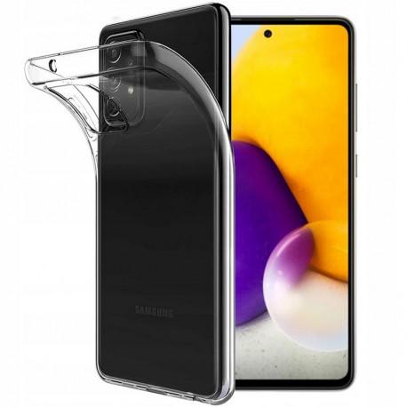 Ümbris Samsung Galaxy A72 4G, A72 5G, A725F, SM-A726B, 2021 - Läbipaistev