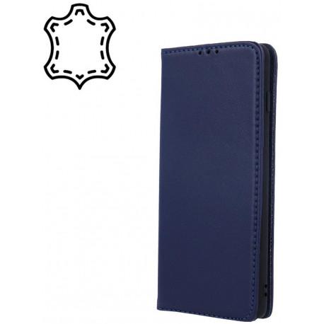Leather, Nahkkaaned Samsung Galaxy A12, A125F, 2020 - Sinine