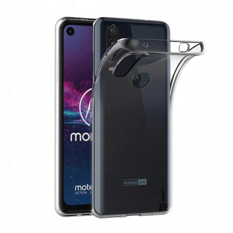 Ümbris Motorola One Action, 2019 - Läbipaistev