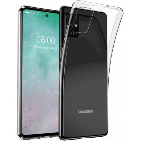Ümbris Samsung Galaxy A51, A515, 2019 - Läbipaistev