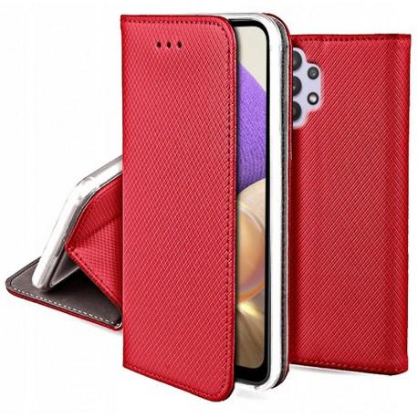 Magnet, Kaaned Samsung Galaxy A32 4G, A325F, 2021 - Punane