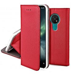 Magnet, Kaaned Nokia 6.2, Nokia 7.2, 2019 - Punane