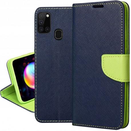 Fancy, Kaaned Samsung Galaxy A21s, A217, 2020 - Sinine