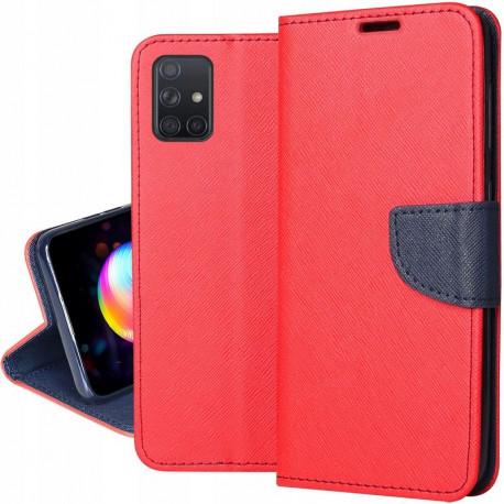 Fancy, Kaaned Samsung Galaxy A51, A515, 2019 - Punane