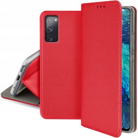 Magnet, Kaaned Samsung Galaxy S20, S11e, 6.2, G980, 2020 - Punane