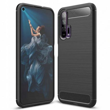 Carbon, Ümbris Huawei Nova 5T, Honor 20, 2019 - Must