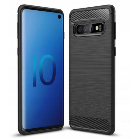 Carbon, Ümbris Samsung Galaxy S10e, 5.8, G970, 2019 - Must