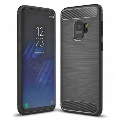 Carbon, Ümbris Samsung Galaxy S9, G960, 2018 - Must
