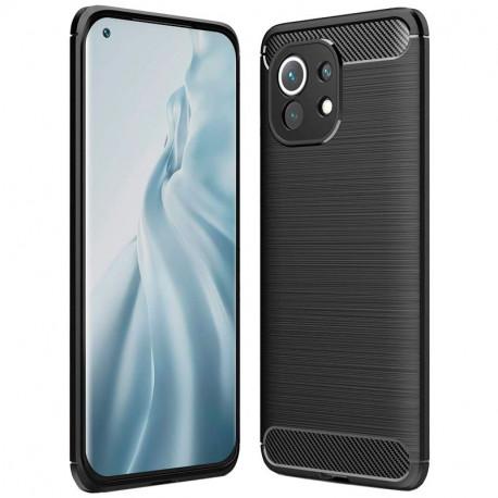 Carbon, Ümbris Xiaomi Mi 11, 2021 - Must