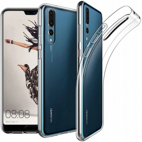 Ümbris Huawei P20 Pro, P20 Plus, 2018 - Läbipaistev