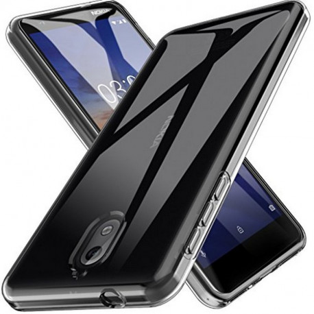 Ümbris Nokia 3.1, 2018 - Läbipaistev