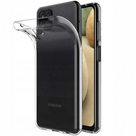 Ümbris Samsung Galaxy A12, A125F, 2020 - Läbipaistev