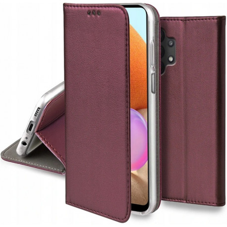 Magnetic, Kaaned Samsung Galaxy A32 4G, A325F, 2021 - Burgundy