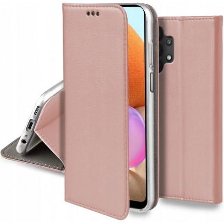 Magnetic, Kaaned Samsung Galaxy A32 4G, A325F, 2021 - Roosa-Kuld