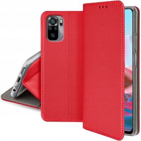 Magnet, Kaaned Xiaomi Redmi Note 10, Note 10S, 2021 - Punane