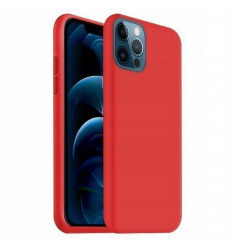 "Soft, Ümbris Apple iPhone 12 / 12 Pro, 6.1"" 2020 - Punane"