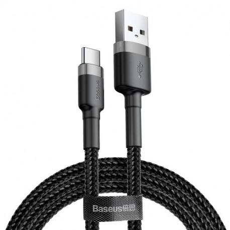 Baseus Cafule, Kaabel, juhe USB Male - USB Type-C Male, 3A, 1m - Must-Hall