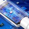 Baseus Mini, Kaabel, juhe USB Male - Lightning (8-pin) Male, 2.4A, 1m, iPhone, iPad - Valge