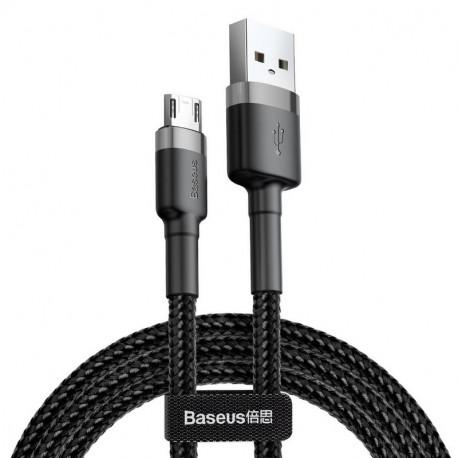 Baseus Cafule, Kaabel, juhe USB Male - MicroUSB Male, 2A, 3.0m - Must-Hall