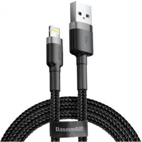 Baseus Cafule, Kaabel, Juhe USB Male - Lightning, 2.4A, 0.5m, iPhone, iPad - Must-Hall