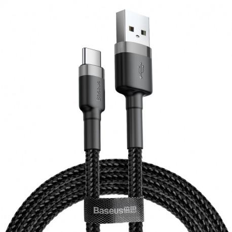 Baseus Cafule, Kaabel, juhe USB Male - USB Type-C Male, 3A, 0,5m - Must-Hall