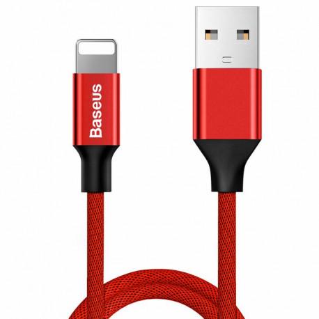 Baseus YIVEN, Kaabel, juhe USB Male - Lightning, 2A, 1.2m, iPhone, iPad - Punane