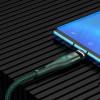 Baseus Zinc Magnetic, Kaabel, juhe USB Type-C Male - USB Type-C Male, 100W, 1.5m - Roheline