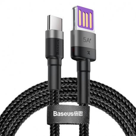 Baseus Cafule HW QC, Kaabel, juhe USB Male - USB Type-C, 40W, 1.0m - Must-Hall