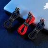 Baseus Cafule, Kaabel, juhe USB Type-C Male - USB Type-C Male, 60W, 2.0m - Must-Punane