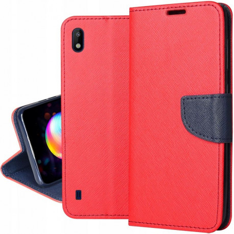 Fancy, Kaaned Samsung Galaxy A10, A105, 2019 - Punane