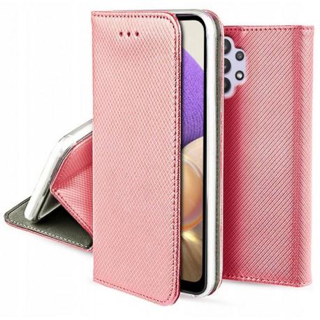 Magnet, Kaaned Samsung Galaxy A32 4G, A325F, 2021 - Roosa-Kuld